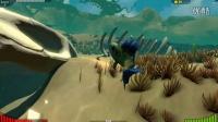 【湾湾解说】模拟鱼e04 池塘混战!!个人力量的渺小!