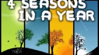 4 Seasons in a Year kids song