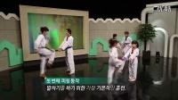 2016韩国跆拳道协会【泰美】跆拳道热身 跆舞 品势技术教学 8