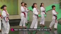 2016韩国跆拳道协会【李大轩】跆拳道热身 跆舞 品势技术教学 2