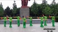楚楚动舞广场舞《竹舞》团队版