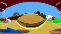 360 VR 全景 虚拟现实 超级马里奥 VR带你走进马里奥世界冒险