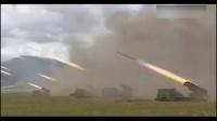 解放军中印边境重装集结实弹军演