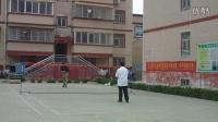 河南省义马市上石河小区羽毛球训练201605250800