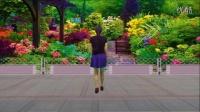 蓝天云广场舞 原创简单好学的广场舞《快快说声我爱你》 正反面附教学