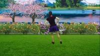 蓝天云广场舞 原创简单好学的32步《别把寂寞当缘分》 正反面附教学