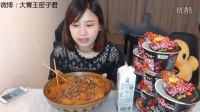 中国实力大胃王来了!10桶火鸡面用时16分20秒速食挑战 不服?等你来战!密子君