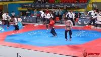 2016欧洲跆拳道锦标赛WTF示范团精彩特技表演