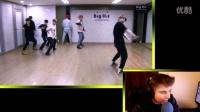 防弹少年团BTS Boy in Luv 男子汉 练习室 Reaction