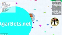【Agar 全民星球】单人外挂-240个机器人HACK - TROLLING -- 240 Bots Agario Gameplay