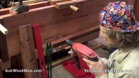 24_40 Installing Hanging Roubo Bracket • WELDING for WOODWORKERS