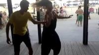 Sensual Bachata - afrocuban salsa festival 2014 beach party