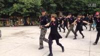 西安水兵舞蹈团表演第七套(北京水兵舞)02