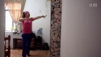 广州美丽依旧舞蹈课堂动感健身操之六正背面分解演示