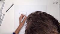 工业设计手绘圆柱体投影马克笔教程1