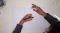 工业设计手绘圆角透视画法教程