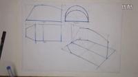 工业设计手绘透视结构正确画法教程