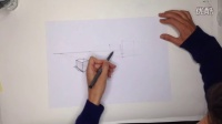 工业设计手绘两点透视教程2