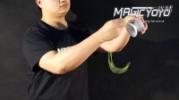 Magicyoyo Present YoYo Tutorial 4A-01-Tie the string