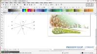 CDRX7基础教程CDR手绘工具 形状工具 艺术笔工具CorelDRAW入门教程