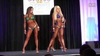 2013 Battle on the Beach. IFBB Pro Bikini Comparison Round. Part 2. Daytona Beac