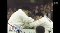 【北京正德馆柔道】跨级别比赛:古贺75kg vs 渡边155kg