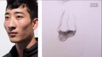 北京弘艺教学视频—鼻子示范