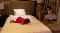 逍遥在酒店房间