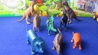 恐龙总动员 恐龙世界 恐龙当家 恐龙玩具 三角龙PK 剑龙