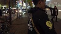 海阔天空 日语版 小海南日本东京街头表演