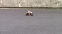 遥控摩托车 REPSOLにサウンドシステムESS-ONE ①