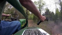 Drive - by on a Tractor