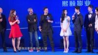 奥兰多布鲁姆大方送吻 携手吴磊将来沪拍摄新片 160618