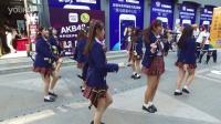 中关村一群妹子应援AKB48 为技术宅跳热舞