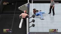 "【WWE 2K16】神秘人""艾尔布雷泽""单打赛-联盟里还有谁"