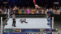 """【WWE 2K16】神秘人""""艾尔布雷泽""""单打赛"""