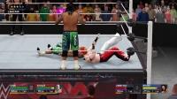 "【WWE 2K16】神秘人""艾尔布雷泽""无须换人的双打赛"