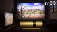 坚果P2与智能电视对比看4K视频