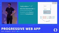 Progressive Web Apps in any context (Progressive Web App Summit 2016)