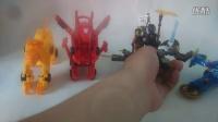 花絮:乐高积木机甲兽神 爆裂飞车玩具《猎车兽魂》虎魄