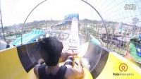 外星攻击(航空飞机组合滑梯)@泰国芭提雅卡通频道主题水上乐园