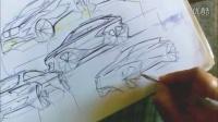 如何用手绘思考来表达汽车设计创意