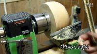 【愚拙手工】木旋基础视频 碗刀的基本用法