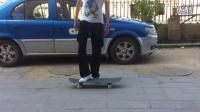 新手滑板入门技巧- 如何荡板-如何原地踩板拿板