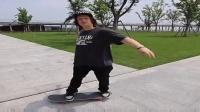 滑板如何转向