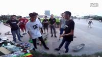 20160625 山东 枣庄 滑板视频