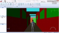 吉林建筑大学城建学院+城建土木风+电气实验楼视频动画