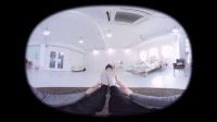 360 VR 全景 虚拟现实 韩国妞手把手教你做瑜伽