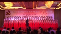 云南省西双版纳州景洪市纪念共产党成立95周年市直机关歌咏比赛  市教育系统《在灿烂的阳光下》、《中国梦》