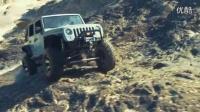 Axial SCX10吉普牧马人90027越野攀爬视频